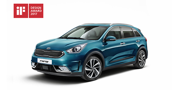 Kia Niro - DESIGN AWARD 2017