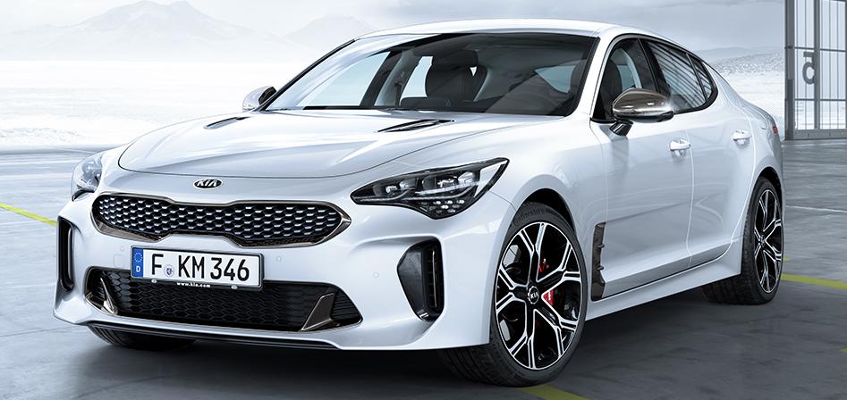 Nová Kia Stinger GT - európska specifikácia