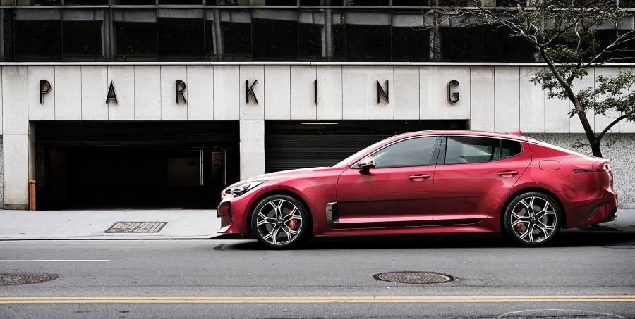 Nová Kia Stinger GT - dizajn, exteriér