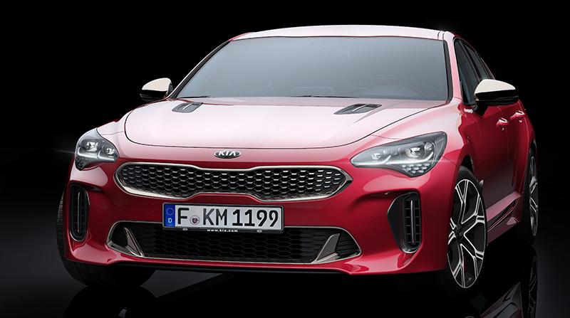 Nová Kia Stinger GT - novinka