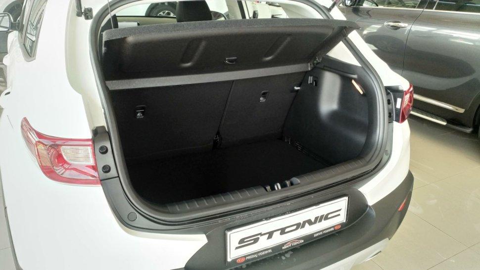 Kia Stonic 1.2 MPi SIlver + Silver Pack