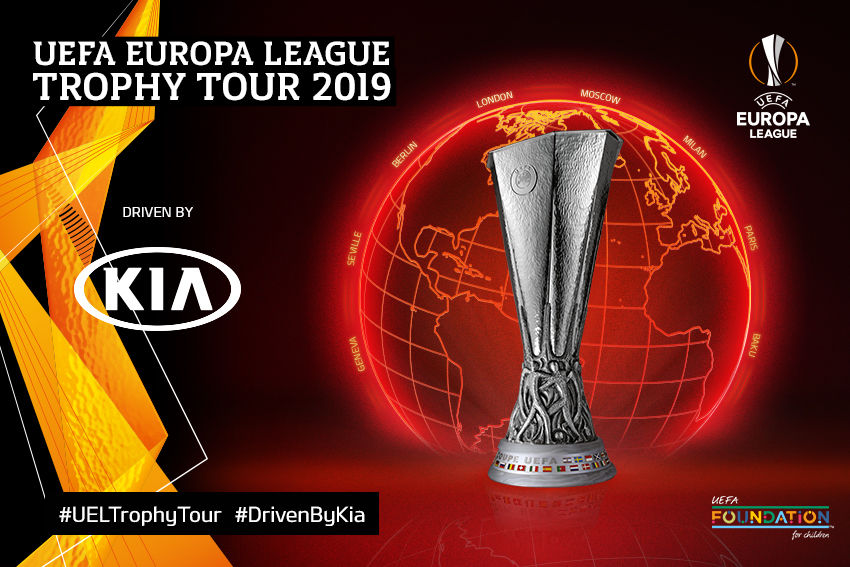 KIA UEFA EUROPA LEAGUE TROPHY TOUR
