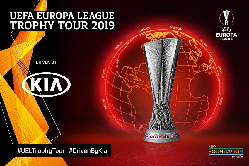 Spoločnosť Kia Motors sa vydáva naprvé turné UEFA