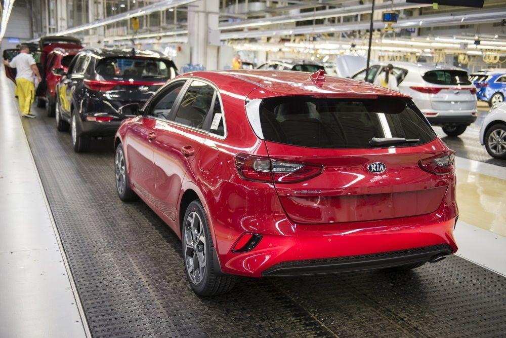 V Žiline odštarovala sériová výroba tretej generácie Kia Ceed