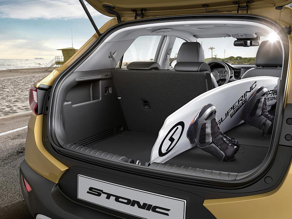 Kia Stonic - batožinový priestor