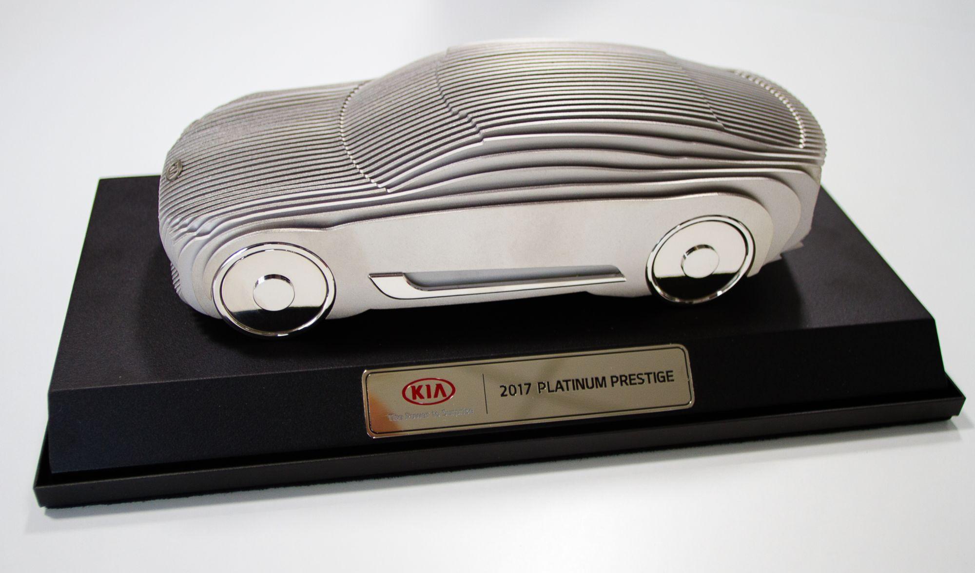 Kia Platinum Prestige 2017