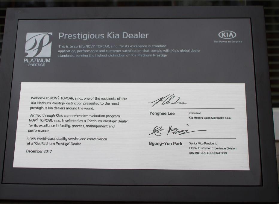 Kia Prestigous Dealer