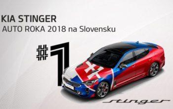 Kia Stinger Auto roka 2018