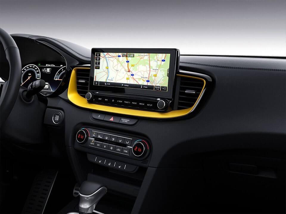 Kia XCeed navigačný systém