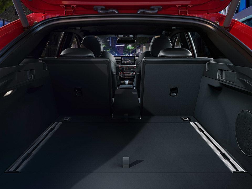 Nová Kia ProCeed batožinový priestor