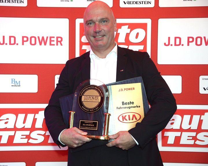 Značka Kia zvíťazila vštúdii spoločnosti J.D. Power ospoľahlivosti vozidiel